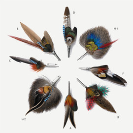 Franz Blumtritt & Sohne - FEATHER BROOCH