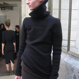 HAIDER ACKERMANN - turtle knit