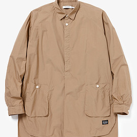 hobo - COTTON TYPEWRITER GARDENER PULLOVER SHIRT BY nonnative