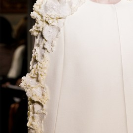 Giambattista Valli - white cape