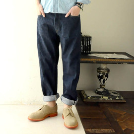 orslow - original standard 5p pants -one wash-