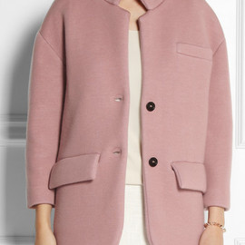 BURBERRY PRORSUM - Knitted cashmere-blend jacket
