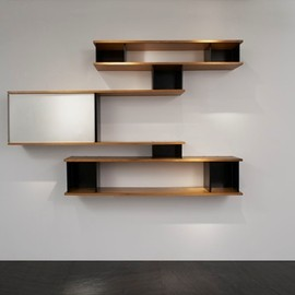 Charlotte Perriand - Very Rare « Nuage » Bookshelf, wall mounted, ca.1958