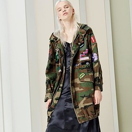 Marc Jacobs - Marc Jacobs Hooded Camouflage Anorak Jacket