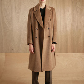 MAISON MARTIN MARGIELA 10 - WOOL AND MOHAIR COAT