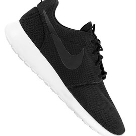NIKE - Roshe Run - Black Anthracite, Siren Red
