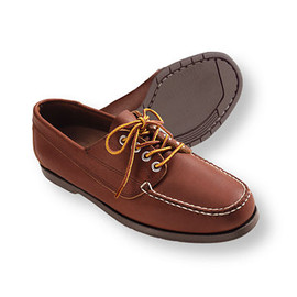 L.L.Bean - Blucher Moc, Leather (Saddle)