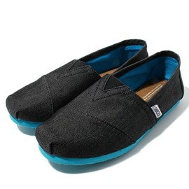 TOMS - BLACK DENIM POP