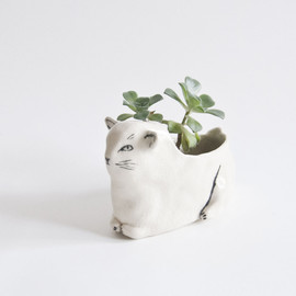 Leah Goren - Cat Planter