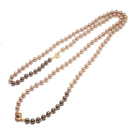 JAM HOME MADE - ROYAL STUDS PEARL LONG NECKLACE
