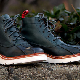 Grenson, Ronnie Fieg - Spike V Boot -Slate Blue