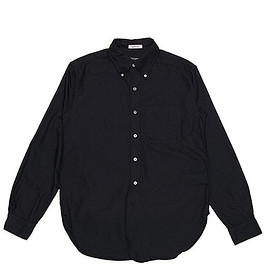 ENGINEERED GARMENTS - 19th BD Shirt-Cambridge Oxford-Black