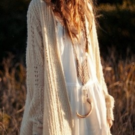boho love the sweater