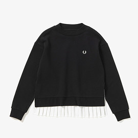 FRED PERRY - Pleated Back Sweatshirt