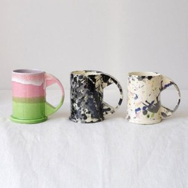 Large Mug Apple × Pink | Echo Park Pottery