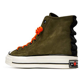 CONVERSE - Chuck 70 High Top - Surplus Olive/Orange