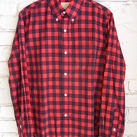 Band of Outsiders - gingham check red blue