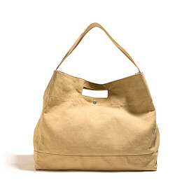 CLAMP LoW - Canvas Tote Bag-Cream