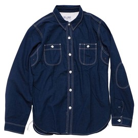 ENDS AND MEANS - WORK SHIRT (INDIGO)