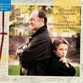 Mozart/Harnoncourt - Early Symphonies 2