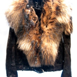 BALMAIN - Fox Fur Riders