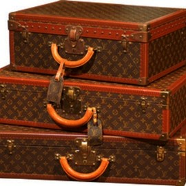 LOUIS VUITTON - Vintage LV Luggage