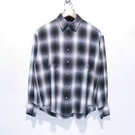 pheeny - ombre check shirt