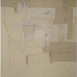 untitled, 2009, pigment on linen
