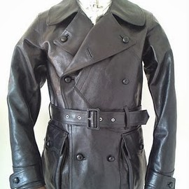 ADJUSTABLE COSTUME - 20's Style Aviator Melton jacket