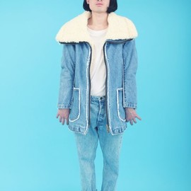 POURTON DE MOI - OTAKU DENIM COAT