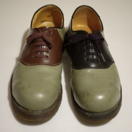 Dr.Martens - SADDLE SHOES(STEEL TOE .ver)