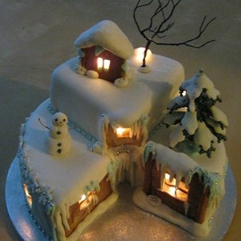 CakeCentral - Christmas eve cake