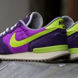 Nike - Nike Air Vortex VNTG - Purple/Cyber Yellow
