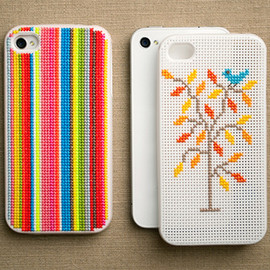Cross Stitch iPhone Case from Purl Soho