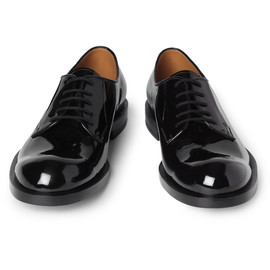 JIL SANDER - Betis Patentleather Derby Shoes