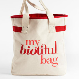 my biotiful bag - Tote Red