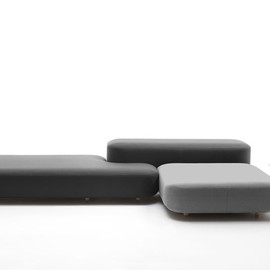 深沢直人:システムソファー  common modular seating for viccarbe