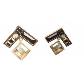 "delphine charlotte parmentier - earrings ""Tatris23"""