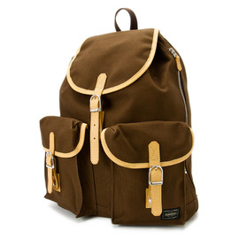 "HEAD PORTER - ""LX"" RUCK SACK BROWN"