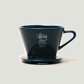 STUSSY Livin' GENERAL STORE - coffee dripper Dnavy