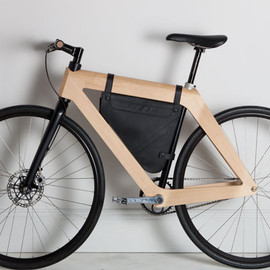 Gary Galego - Carbon Wood Bicycle