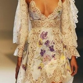 Valentino - flower dress