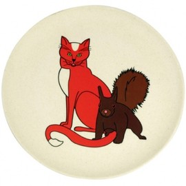 ZUPERZOZIAL - HUNGRY CAT PLATE