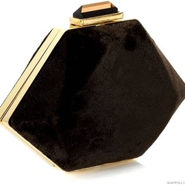 Accessorize - Perfume Bottle Velvet Clutch