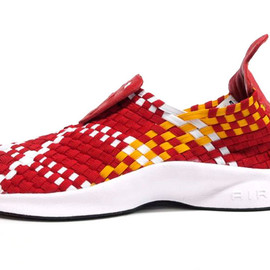 NIKE - AIR WOVEN 「LIMITED EDITION for NONFUTURE」 RED/YEL/WHT