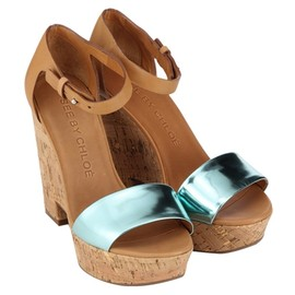 SEE BY CHLOE - METALIC SANDAL