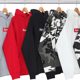 Supreme - Box Logo Pullover (Red Camo)