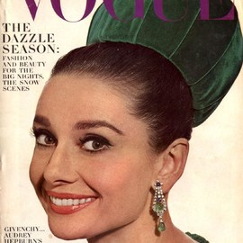 vogue - Audrey Hepburn - Vogue Magazine [United States] (November 1964)