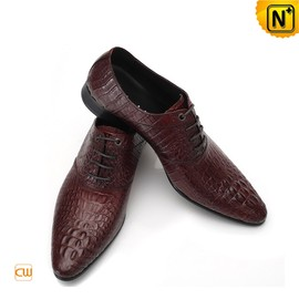 CWMALLS - Lace-Up Leather Oxford Shoes for Men CW762410