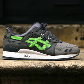 "asics - Ronnie Fieg x ASICS Gel Lyte III ""Super Green"" for Soles4Souls"